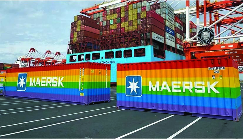 Rainbow containers 2